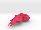 Vulture hoverbike @35mm scale in Pink Strong & Flexible Polished
