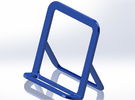 Cell Phone Smart Phone Stand Holder Android Iphone in Blue Strong & Flexible Polished