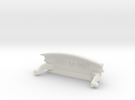 Audi A4 B6 Mittelarmlehne/Armrest lid Standart pur in White Strong & Flexible