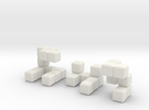 The Seldom Seen Cube in White Strong & Flexible