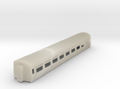 Cravens Built Coach N Scale (WITHOUT Base Plate) in White Acrylic