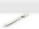 Bird Fork in White Strong & Flexible
