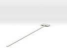U.S. Flag swizzle stick in White Strong & Flexible