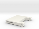 clickit hinge in White Strong & Flexible