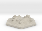 Catan_sheep_hexagon in Sandstone