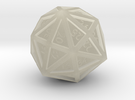 d48 - Disdyakis Dodecahedron in Transparent Acrylic