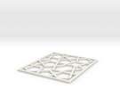Girih Tile2 in White Strong & Flexible