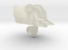 Shockaract head for Animated Shockwave in Transparent Acrylic