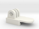 Nerf GoPro Adaptor in White Strong & Flexible
