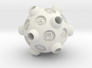 """D20 """"Drained"""" in White Strong & Flexible"""