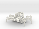 Crab in White Strong & Flexible
