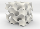 gyroid surface in White Strong & Flexible