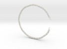 Sphere Chain 30 Inch in White Strong & Flexible