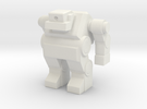 Robot 0033 Cyclops Bot v1 in White Strong & Flexible