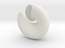 smooth Shell #1 in White Strong & Flexible