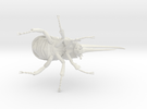 Herculesbeetle10scaled Fixed Hollow .6mmhole in White Strong & Flexible