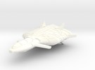 Mafka Transport Cruiser (Full Scale) in White Strong & Flexible Polished
