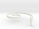 mold part, top,  vehicle spring, 2.0 mm in White Strong & Flexible