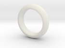 Sinoid Ring 20 mm scale in White Strong & Flexible