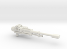 Hiss Auto Cannon 1 (fixed) in White Strong & Flexible