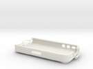iPhone 4 bike mount (case)  in White Strong & Flexible
