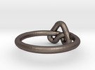 Love Knot-sz16 in Stainless Steel
