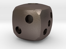 Rounded dice in Stainless Steel