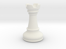 Rook (Chess) in White Strong & Flexible