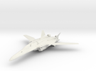Macross VF-25 in White Strong & Flexible