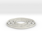 torus knot  fantasy 7-6 2D in White Strong & Flexible