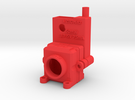 FPV Housing for Camera and Transmitter in Red Strong & Flexible Polished