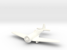 1/144 Curtiss-Wright CW21 A in White Strong & Flexible Polished