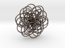 Complex Knot in Stainless Steel