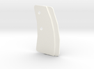 1/6 Panzer III Front/Rear Suspension Guide  -Right in White Strong & Flexible Polished