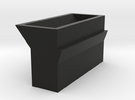 Mortar box for Gilpin County style stamp mill in Black Strong & Flexible