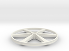 """CHAPP, 1:8 Scale, 24"""" Bicycle Wheel, 120904 in White Strong & Flexible"""