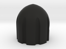 Bullethead knob for guitar/bass  in Black Strong & Flexible