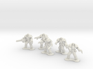 18mm Legionary Heavies (x5) in White Strong & Flexible