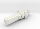 Assault cruiser small in White Strong & Flexible