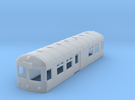 British Railways Wickham Railbus Body (N Gauge) in Frosted Ultra Detail