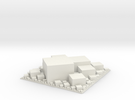 Square packing, extruded in White Strong & Flexible