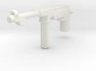 MP40 machine pistol WWII germany for lego in White Strong & Flexible