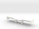 V2 Racer Wing 2.9 in White Strong & Flexible Polished