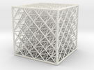 Octet2 Cube 444 Bin in White Strong & Flexible