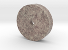 HO Scale 4' diameter Base for Chilean Mill in Full Color Sandstone