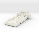 Tyrrel P34 HO scale in White Strong & Flexible