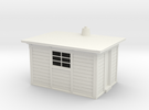 LNER Type D Platelayers Hut 4mm in White Strong & Flexible