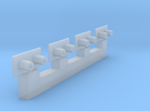 HO Adaptors for Bowser trucks in Frosted Ultra Detail