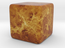 Cube Planet : Venus, 1inch in Full Color Sandstone