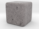 Cube Moon : Luna, 1 inch in Full Color Sandstone